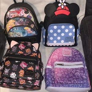 Four Disney Parks by Loungefly Backpacks